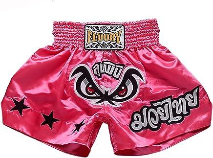 FLUORY Muay Thai Fight Shorts, MMA Shorts Shorts Shorts Kleidung Training Käfig Fighting Grappling Martial Arts Kickboxen Shorts Kleidung, MTSF03FEN, XXX-Large B07FKDL43F     | Deutschland Online Shop  90d740