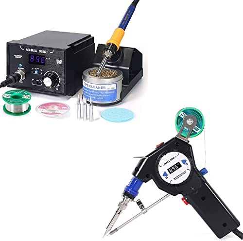 high quality The Reliable 939D+ Soldering Station Bundled online with The 929D-II Auto-feed Soldering System high quality (14 Items) outlet online sale