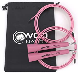 Best WOD Nation Speed Jump Rope For Girls Reviews [2021]