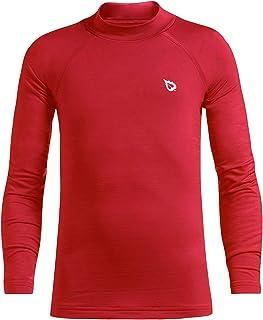 Baleaf Youth Boys' Thermal Shirt Fleece Baselayer Long Sleeve Mock Top