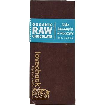 Lovechock Bio Organic Raw Chocolate laktosefrei, 70 g