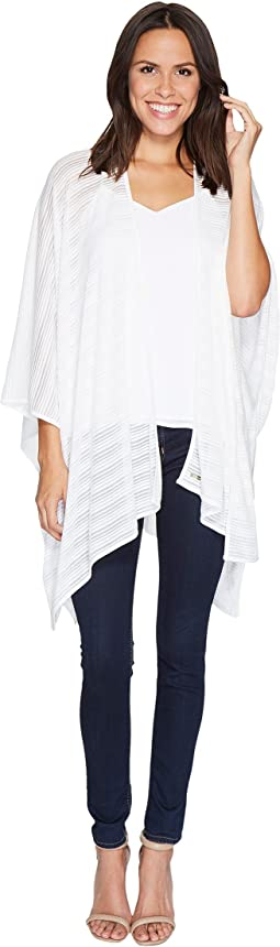 Calvin Klein - Shadow Stripe Jersey Ruana