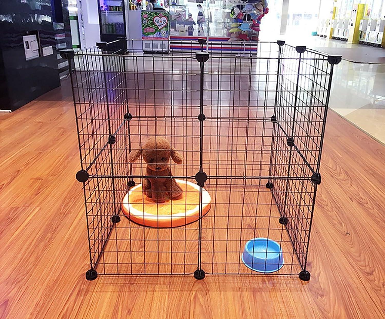 marcas de diseñadores baratos Dog Puppy Pens Jaulas Jaula Plegable Indoor Outdoor Kennels Kennels Kennels Training Cocherier, Metal,20Pieces  excelentes precios