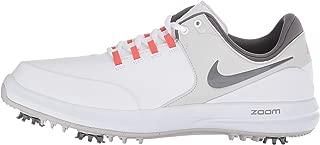 Nike Air Zoom Accurate Golf Shoes 2018 White/Gunsmoke/Rush Coral/Vast Gray Medium 8