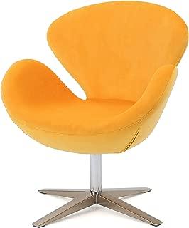 Best orange velvet swivel chair Reviews