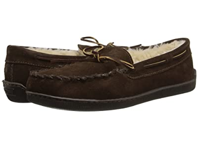 Minnetonka Pile Lined Hardsole (Chocolate Suede) Men