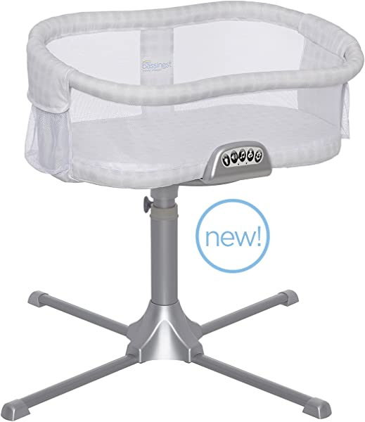 HALO Bassinest Swivel Sleeper Premiere Series Bassinet Luna