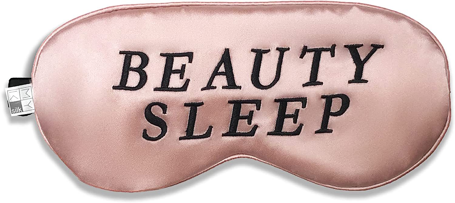 Limited price MYK Silk Sleeping Eyemask Filled Nappi Pure with 1 year warranty Mulberry