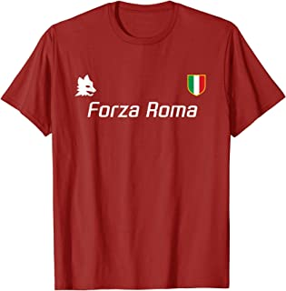 A.S. Roma Giallorossi Italy Serie A Football Soccer T-Shirt