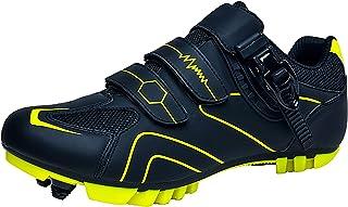 Churlin Chaussures De Cyclisme Chaussures De Vélo De Route Chaussures de Cyclisme VTT Professionnelles Pédale De Verrouill...