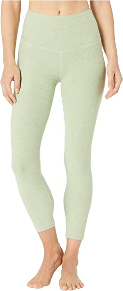 Spacedye High Waisted Capri Leggings