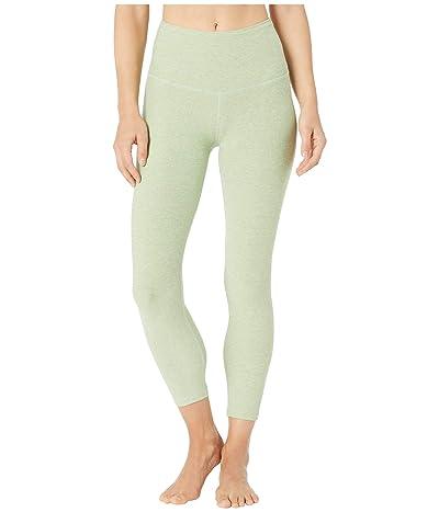 Beyond Yoga Spacedye High Waisted Capri Leggings (Pale Pine/Glade Green) Women