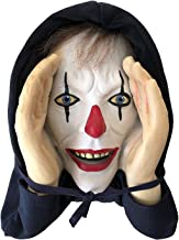 Scary Peeper Window Hanging Mask - Indoor / Outdoor - Great for Halloween, Haunted House Party Scares, Tricks, and Pranks- Giggle