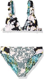Maaji Girls' Adjustable Triangle Bikini Swimsuit Set