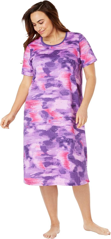 Dreams & Co. Women's Plus Size Scoopneck Sleepshirt Nightgown