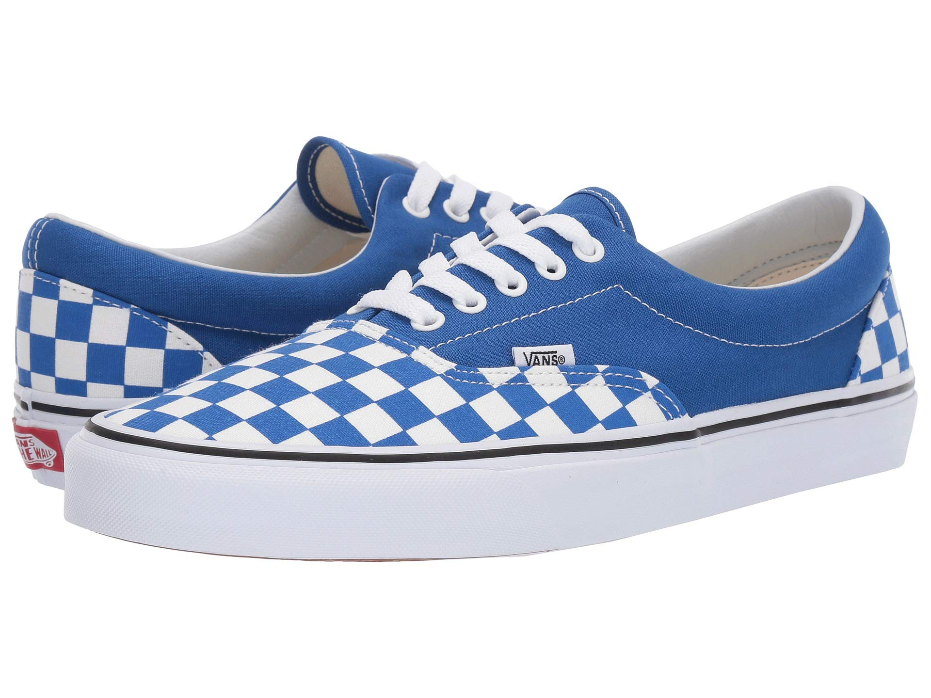 592b3e604e4bb White Era™ Lapis Blue amp; Sneakers checkerboard Shoes Athletic true Vans  XqwETdAw