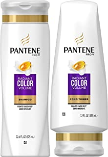 Pantene Pro-V Color Preserve Volume, DUO Set Shampoo 12.6 Ounce + Conditioner 12 Ounce, 1 Each