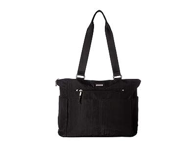 Baggallini Destination Tote with RFID Wristlet (Black) Handbags