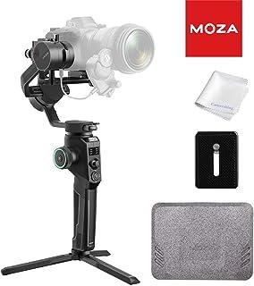 MOZA Aircross 2 Estabilizador Gimbal de 3 ejes para cámaras compactas Apto para BMPCC 4K Canon EOS R Cámaras Sony a Series Carga 32 kg Peso Gimbal 950 g