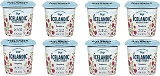 Icelandic Provisions, Skyr Raspberry Yogurt (Pack of 8)