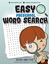 Easy Preschool Word Search: Activities PRESCHOOL workbooks for 3 4 5 year olds (Fun Space Club Word Search book for Kids) (Volume 3)