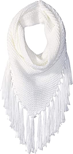 Triangle Snood with Fringe
