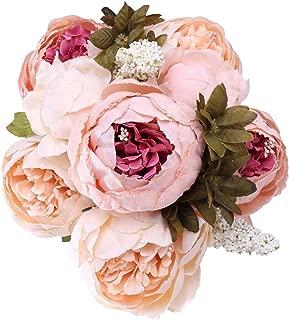 StarLifey Artificial Flowers Silk Peonies Fake Flower Arrangement Decorations Romantic Bride Wedding