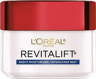 Night Cream by L'Oreal Paris, Revitalift Anti-Aging Face Moisturizer with Pro-Retinol and Centella Asiatica, Paraben Free,...