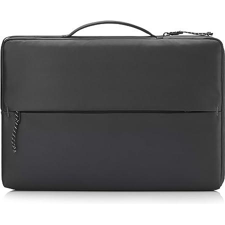 "HP - PC Sport Sleeve per Notebook fino a 14"", Vano PC Imbottito, Dettagli Catarifrangenti, Tasche Organizer, Tessuto Impermeabile e Robusto, Nero"