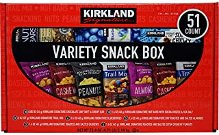 Kirkland Signature Variety Snack Box, 51 ct