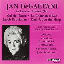 Jan DeGaetani in Concert, Vol. 1
