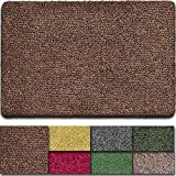 BEAU JARDIN Indoor Doormat Super Absorbent Mud Front Door Mat 36'x24' Latex Backing Non...