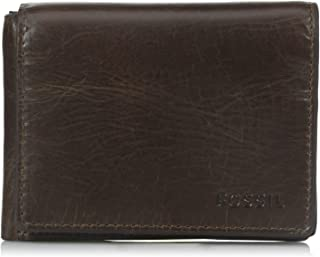 Fossil Men's Derrick Execufold, Dark Brown, One Size