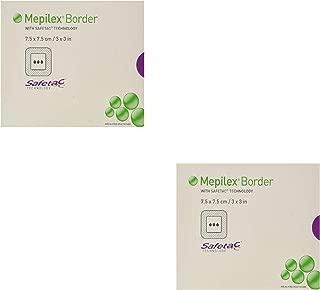 Mepilex Border Self-Adherent Absorbent Foam Dressing - Size 3 x 3
