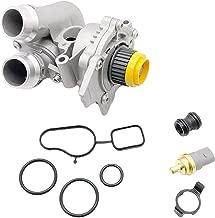 OKAY MOTOR Aluminum Water Pump Assembly for Audi A3 A4 TT VW Tiguan Jetta Golf GTI Eos Beetle CC 2.0T TSI