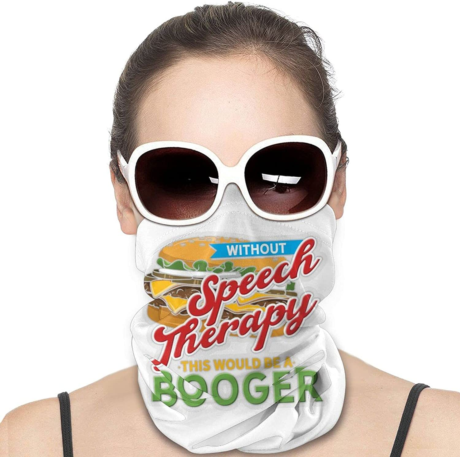 This Would Be a Booger Round Neck Gaiter Bandnas Face Cover Uv Protection Prevent bask in Ice Scarf Headbands Perfect for Motorcycle Cycling Running Festival Raves Outdoors