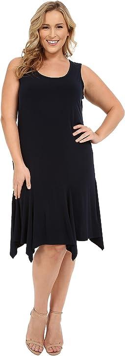 Plus Size Curve Seam Tank Dress