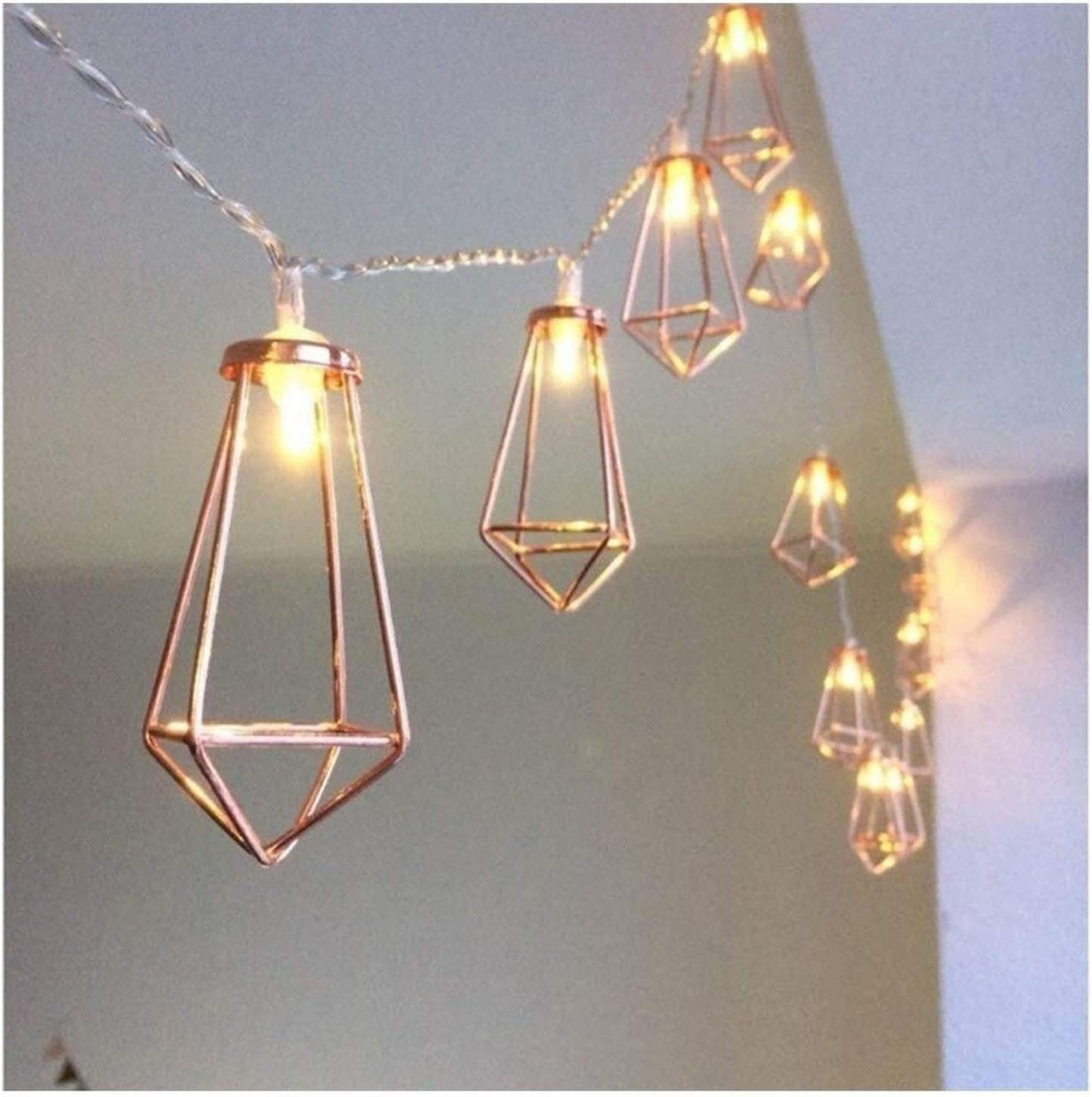 Online limited product Fees free!! ZSMPY Fairy Lights Metal Led String Light LEDs Holi 2-10m 10-80