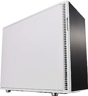 Fractal Design Define R6 USB-C Escritorio Blanco - Caja de ordenador (Escritorio, PC, Aluminio, Acero, Blanco, ATX,EATX,ITX,Micro ATX, Juego)