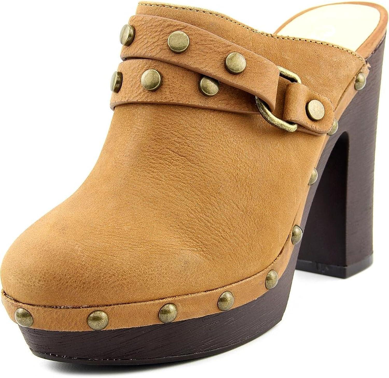Carlos Santana Floret Women US 8.5 Brown Clogs