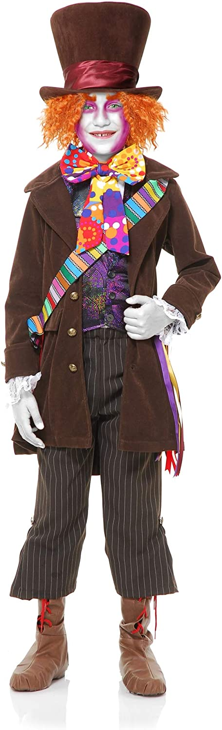 New life Max 81% OFF Boys Electric Mad Hatter Costume