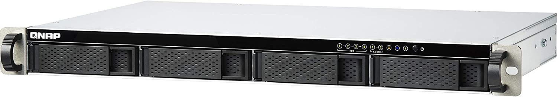 QNAP TS-451DeU-2G 4 Bay Short Depth Rackmount NAS with Intel Celeron J4025, Two 2.5GbE Ports