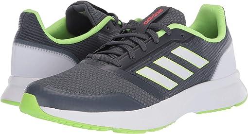 Onix/Footwear White/Signal Green