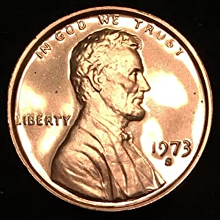 1973 S Lincoln Memorial Penny Cent Gem Proof US Mint
