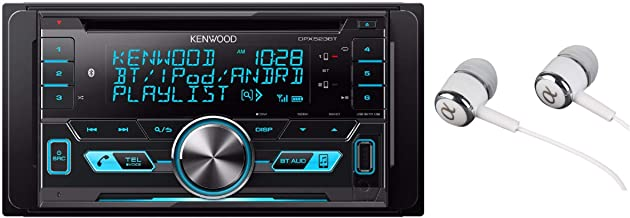Kenwood Double-DIN In-Dash CD/MP3/USB Bluetooth AM/FM Car Stereo Receiver High Resolution..
