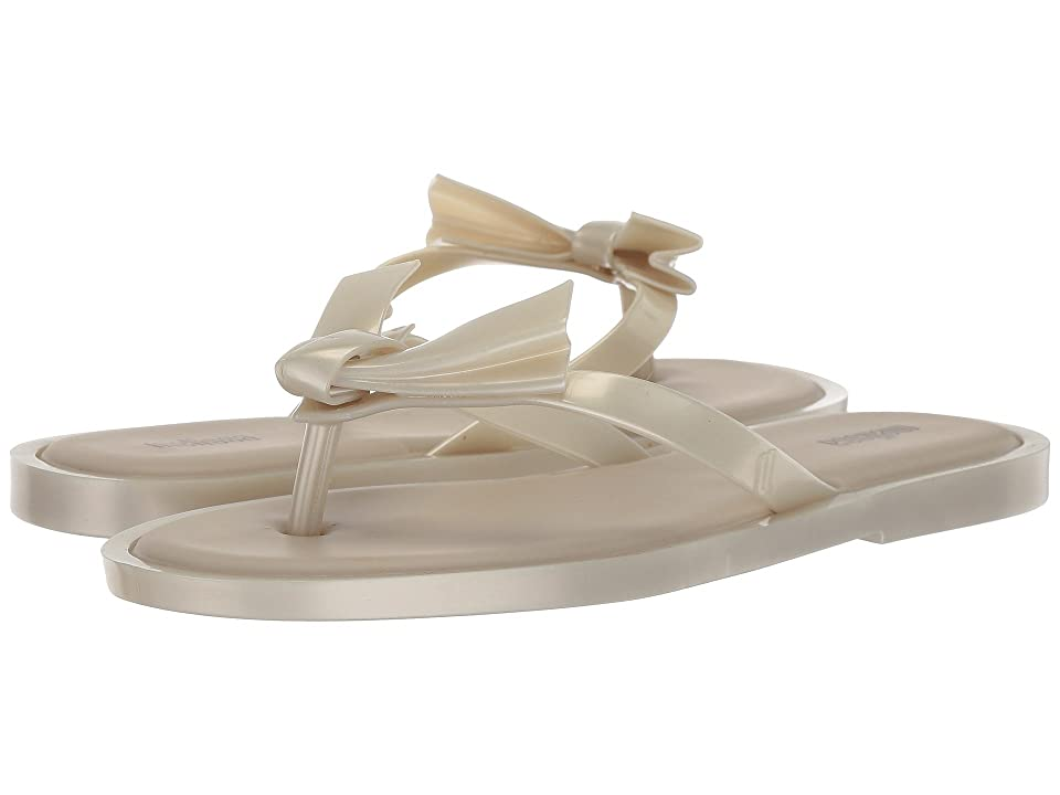Melissa Shoes Comfy (White/Beige) Women