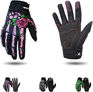 RIGWARL Cycling Gloves Skull Zombie Bone Design Cycling Climbing Motorcycles Cycling Gardening Gloves Men & Women