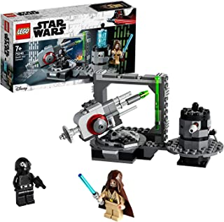 LEGO Star Wars TM - Cañón de la Estrella de la Muerte, Incluye Minifigura de Obi-Wan Kenobi, Juguete de Construcción con Disparador de La Guerra de Las Galaxias, a partir de 7 años (75246)