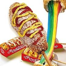 業務用 レインボーチーズドッグ(レインボーチーズハットグ・トレイ付)100本セット 冷凍ポスター・のぼりのPDFデータ付き 李さんの韓国チーズドッグ