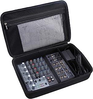 Aproca Hard Carry Travel Case for Behringer Xenyx 802 Premium 8-Input 2-Bus Mixer
